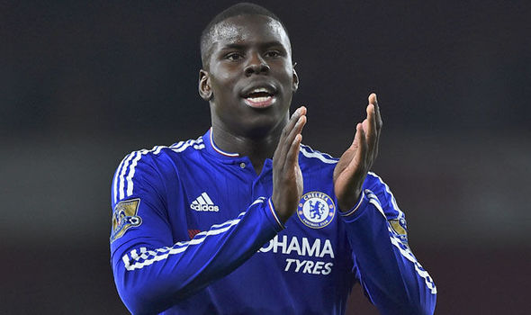 Chelsea signed Kurt Zouma from Saint-Etienne in January 2014.