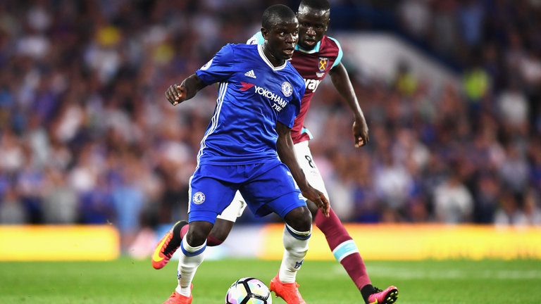 N'Golo Kante is back in training