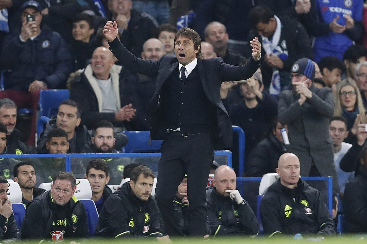 Antonio Conte calls for the Chelsea crowd to increase the volume