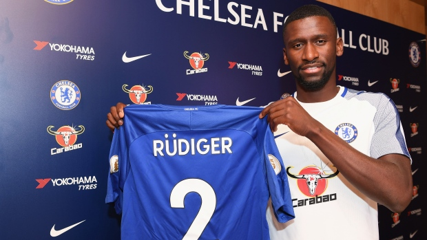 Rudiger joined Chelsea from Roma in 2017