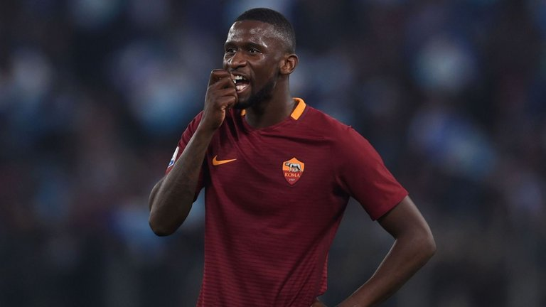 Antonio Rudiger  was signed by Chelsea from AS Roma in 2017.
