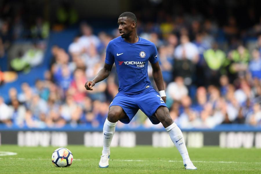 Antonio Rudiger was dropped from the Chelsea squad
