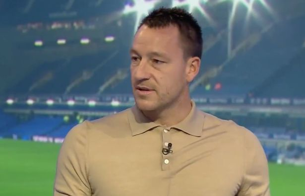 John Terry seems to be in admiration by Thomas Tuchel