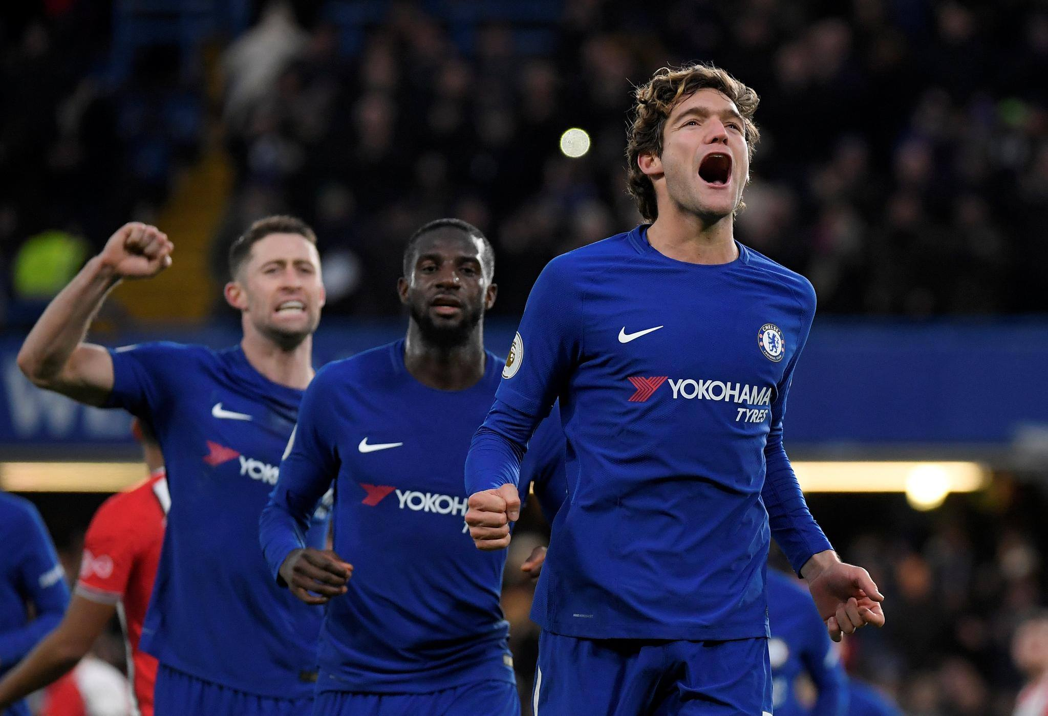 Atletico Madrid manager Diego Simeone has refused to deny interest in Chelsea outcast Marcos Alonso.