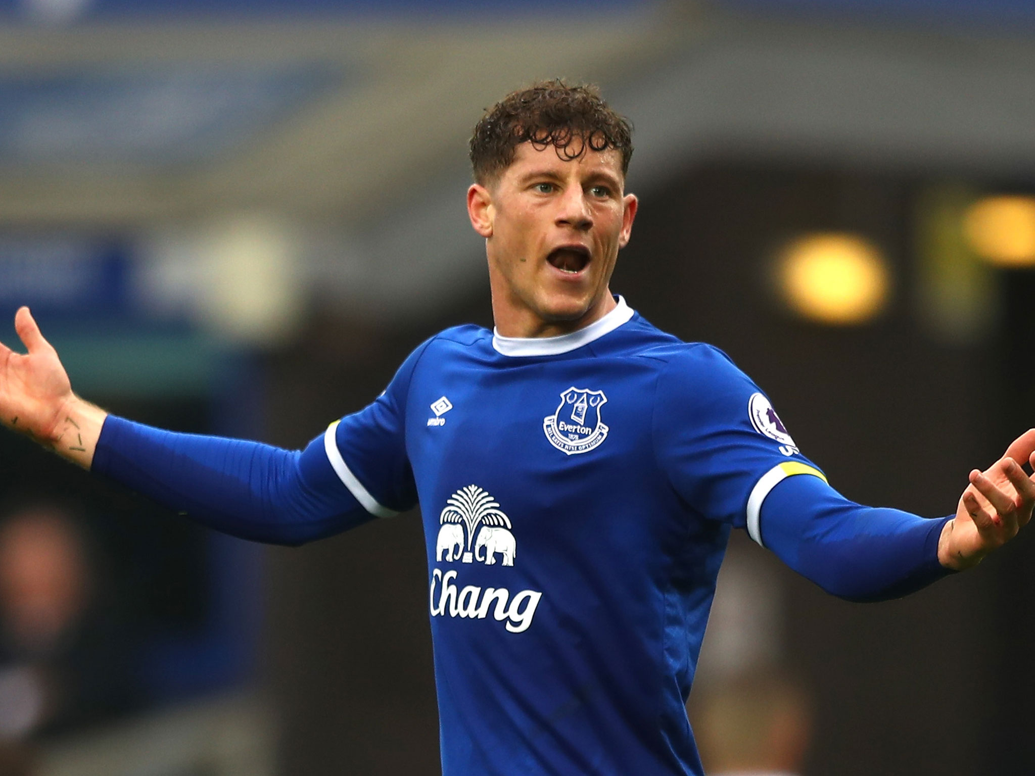 West Ham boss David Moyes worked with Barkley at Everton