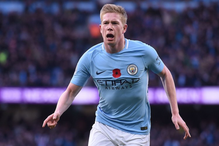 Kevin de Bruyne is a two-time Premier League winner with Manchester City.