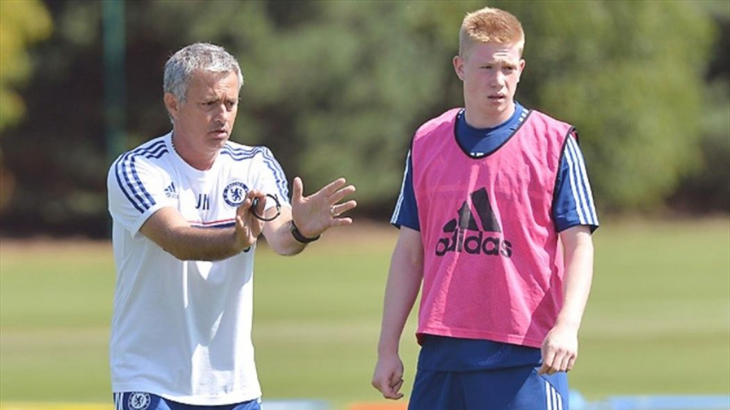 Jose Mourinho was the Chelsea manager when now Manchester City midfielder Kevin de Bruyne was at Stamford Bridge.