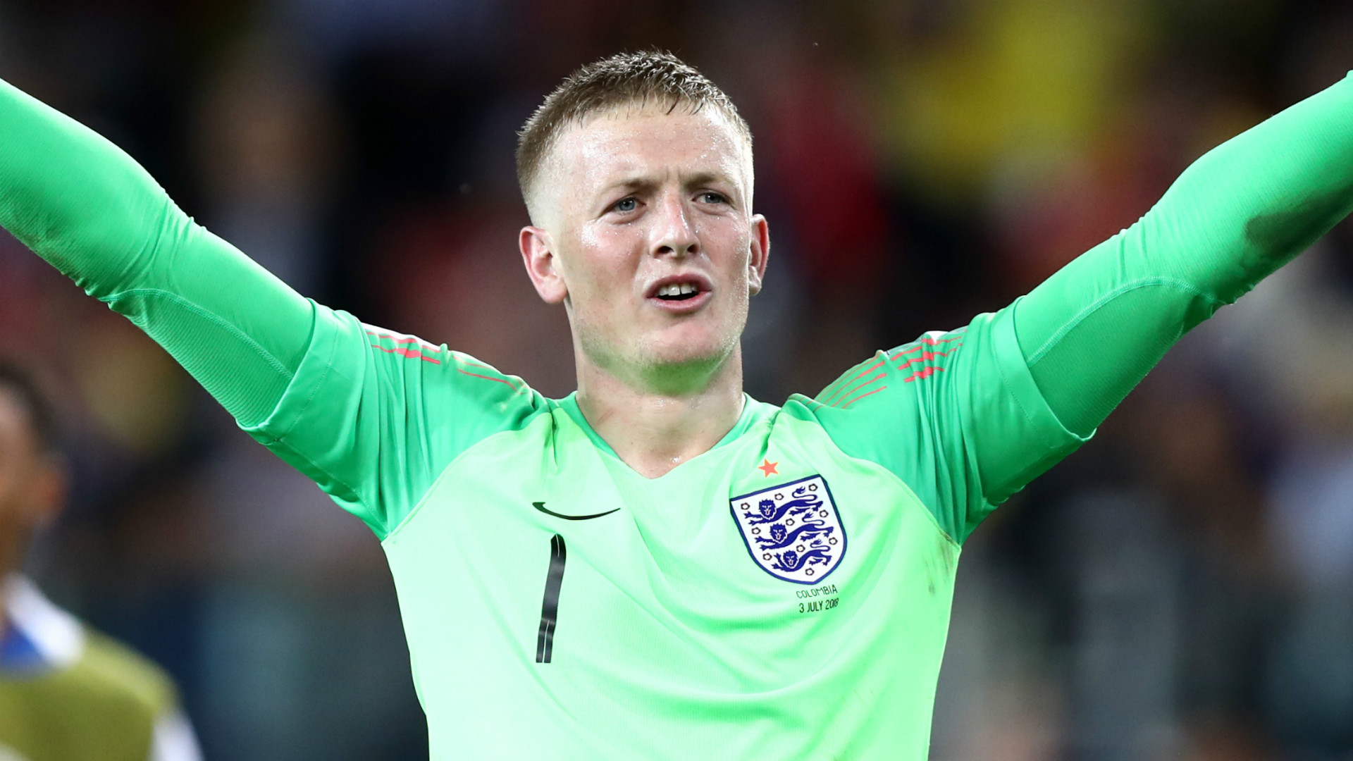 Jordan Pickford is reportedly Chelsea's first-choice to replace Kepa