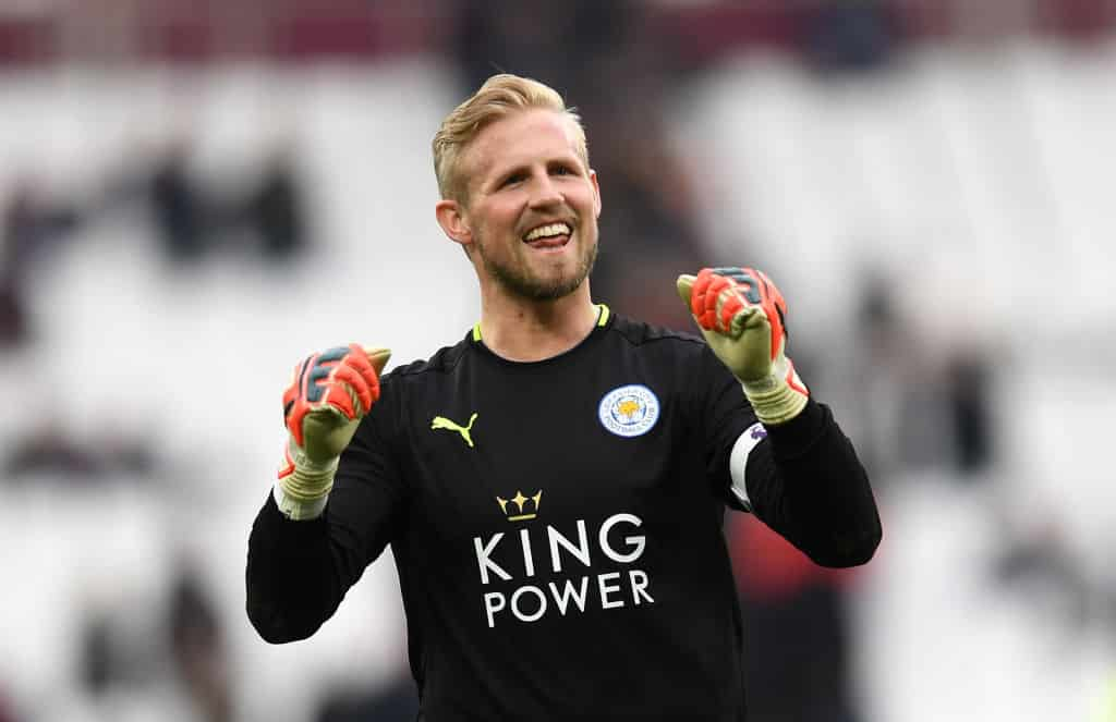 Kasper Schmeichel on Chelsea's radar
