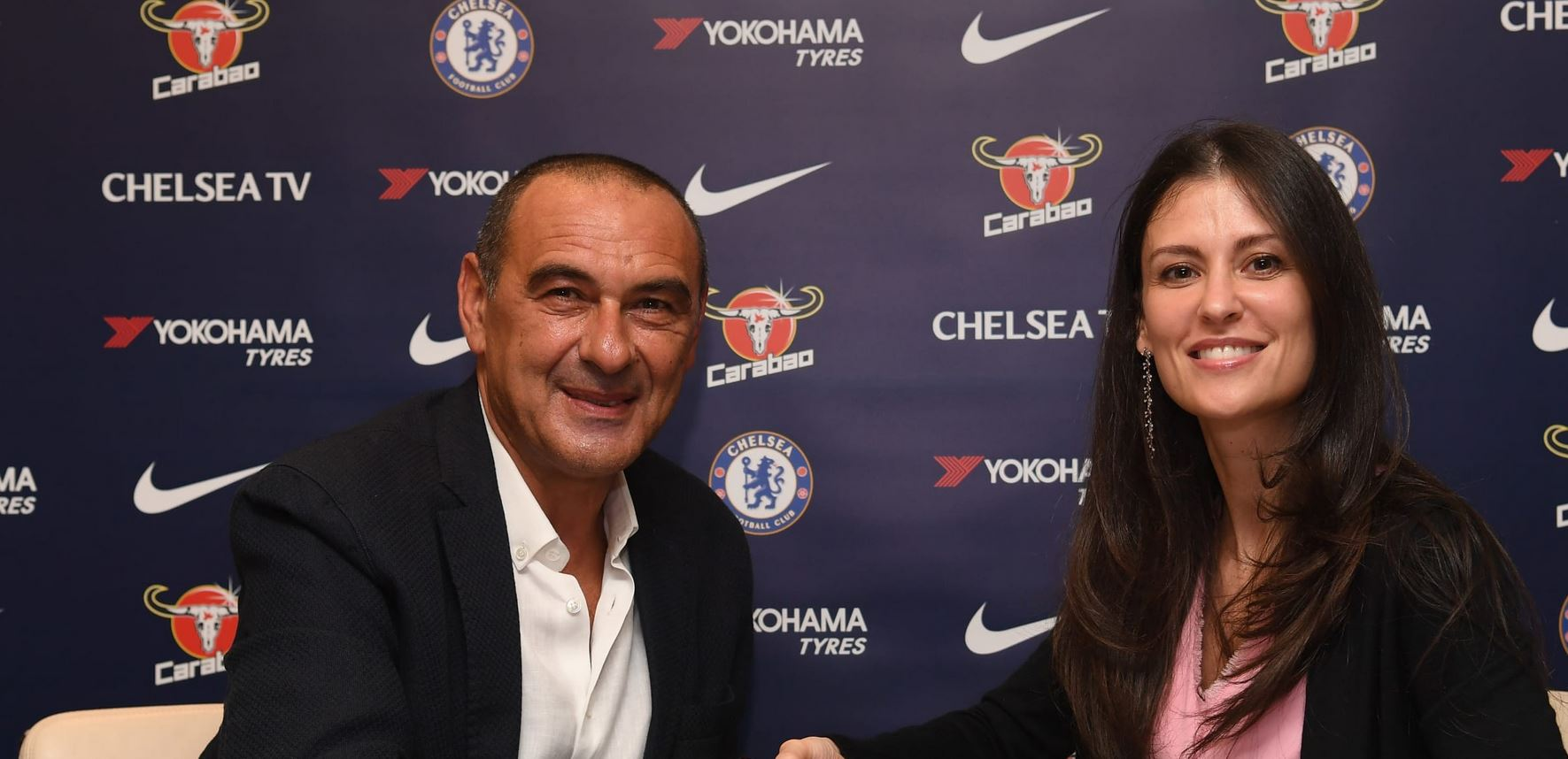 Juventus are currently managed by Maurizio Sarri