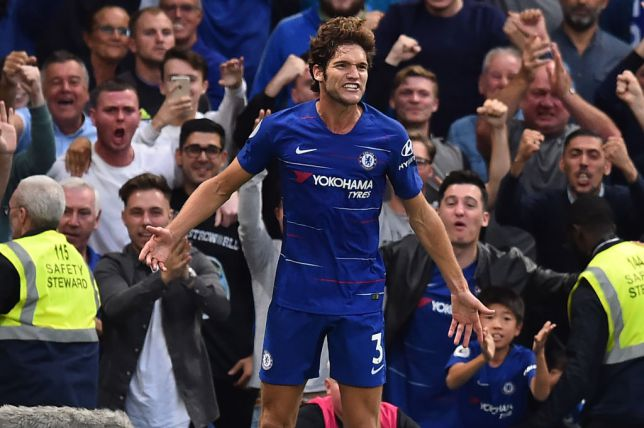 Marcos Alonso never forgot his encounter against Damien Duff