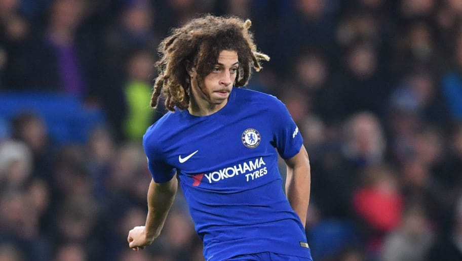 Ethan Ampadu of Chelsea is on loan at RB Leipzig