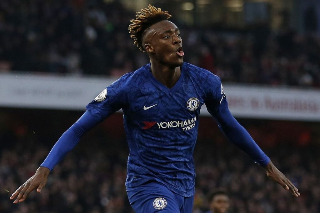 Tammy Abraham enjoyed a breakthrough season at Chelsea in 2019/20, where he scored 18 goals for the club. (GETTY Images)