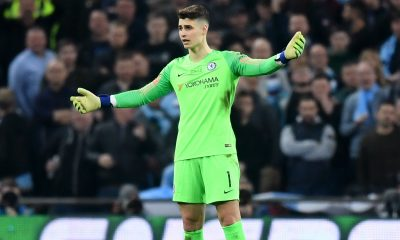 Chelaea star Kepa Arrizabalaga has been ruled out for the clash against Manchester United