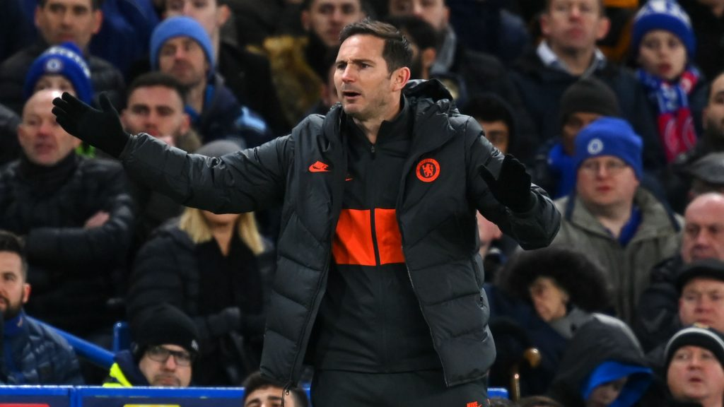 Lampard eyeing additions to full-back department