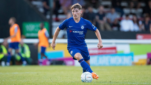 Billy Gilmour was advised to stay at Chelsea