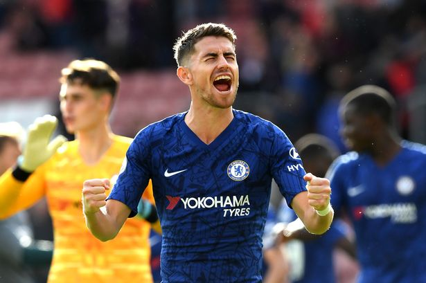 Jorginho signed for Chelsea in 2018 from Napoli.