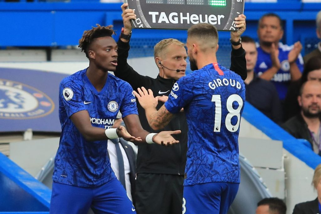 Tammy Abraham can benefit from being mentored by Oliver Giroud
