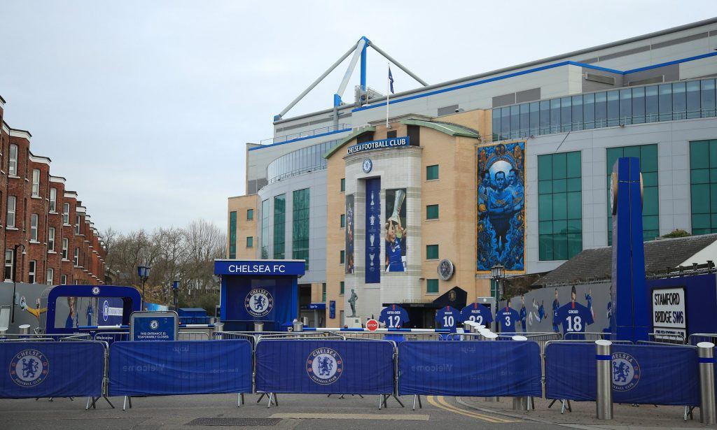 Chelsea's hotels are made available free of charge to the NHS