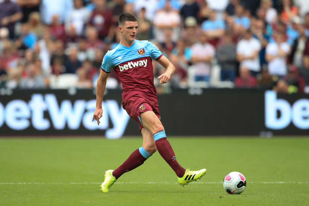 Chelsea target Declan Rice set to be offered lucrative new contract by West Ham United