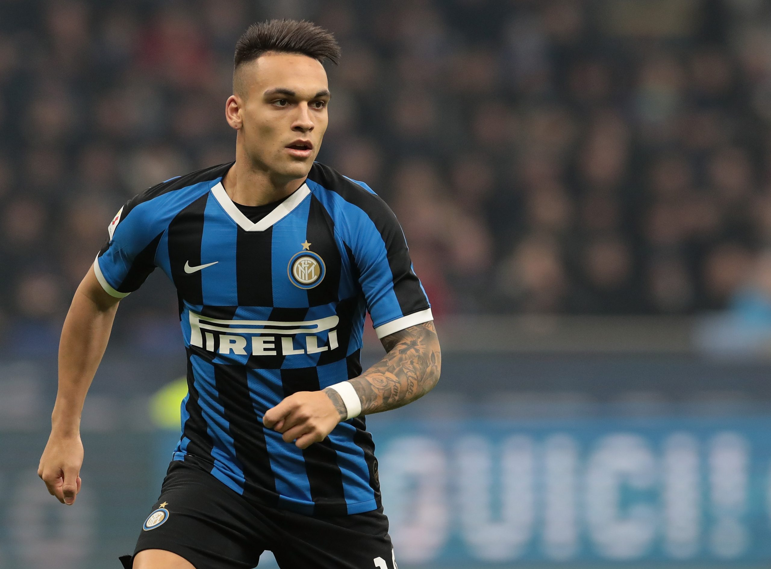 Lautaro Martinez has impressed at Inter Milan