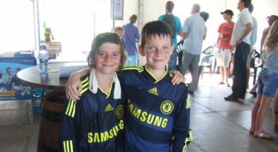 Declan Rice and Mason Mount were together at Chelsea