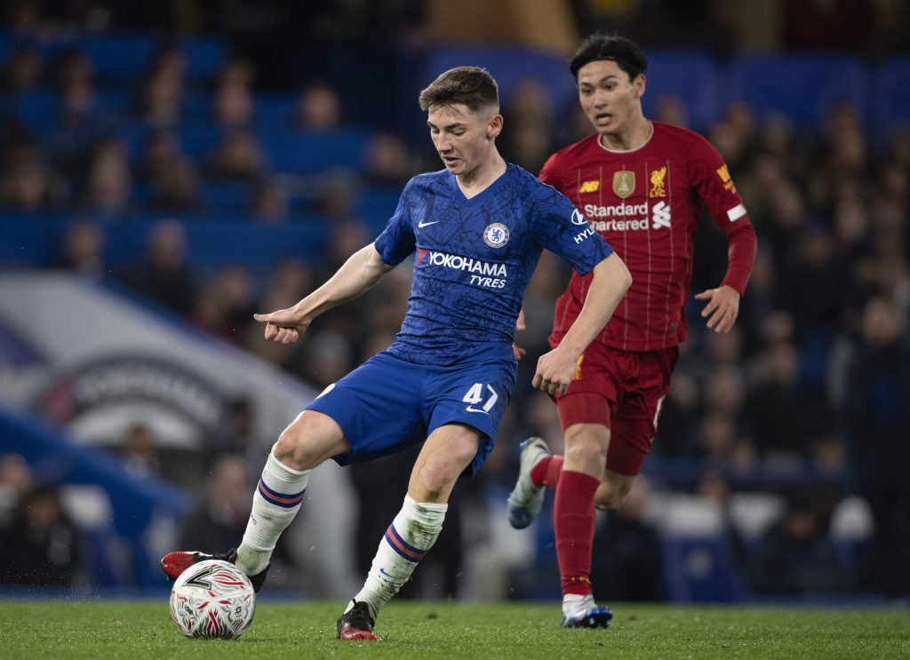 Chelsea starlet Billy Gilmour is back in training