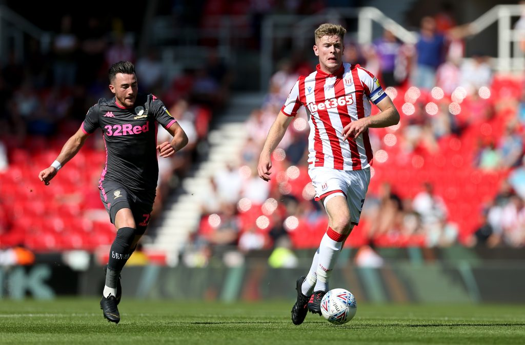 Nathan Collins in action for Stoke City
