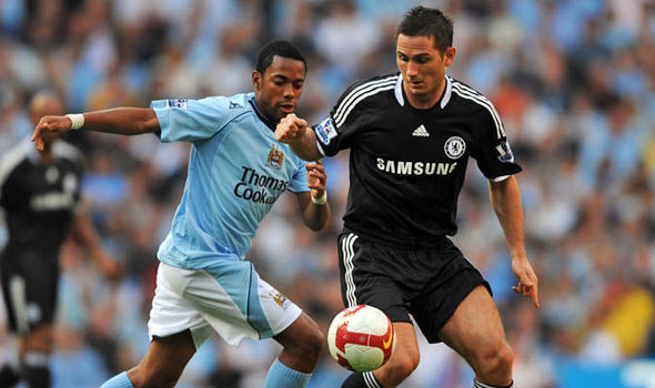 Robinho and Frank Lampard could have been teammates