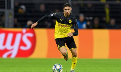 Achraf Hakimi has impressed on loan at Dortmund