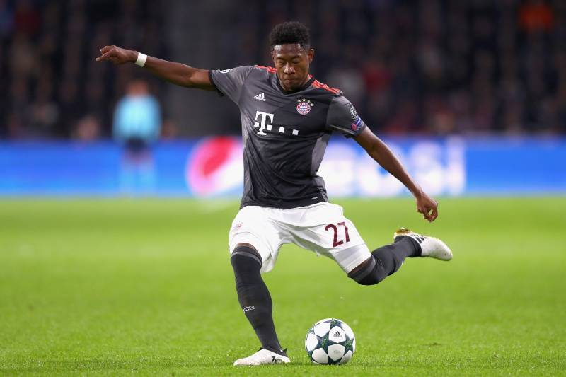 Alaba is in the final year of his contract at Bayern