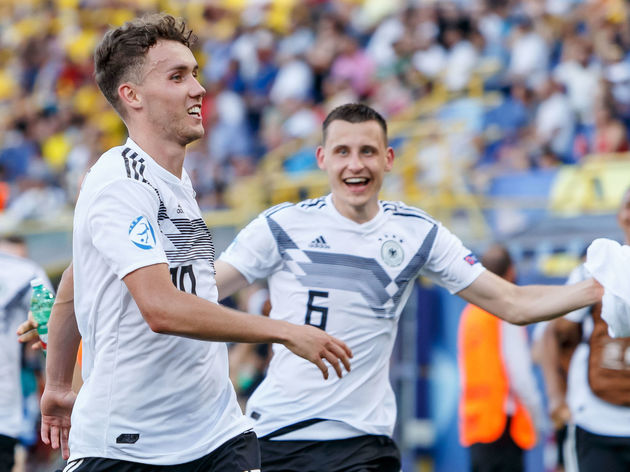 Luca Waldschmidt has been linked with a move to Chelsea