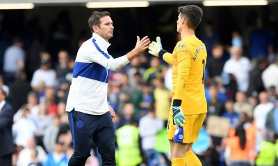 Frank Lampard is not convinced by Kepa Arrizabalaga