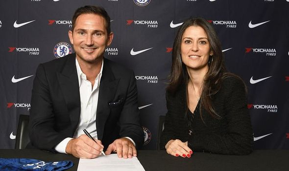 Frank Lampard was in charge of Derby County before returning to Chelsea