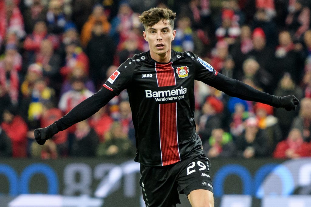 Frank lampard confirms that Chelsea are yet to bid for Kai Havertz