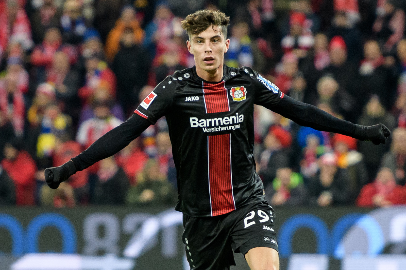 Havertz has been impressed by Frank Lampard's Chelsea project