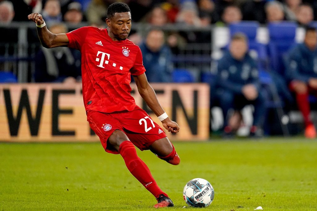 David Alaba has been linked with Chelsea
