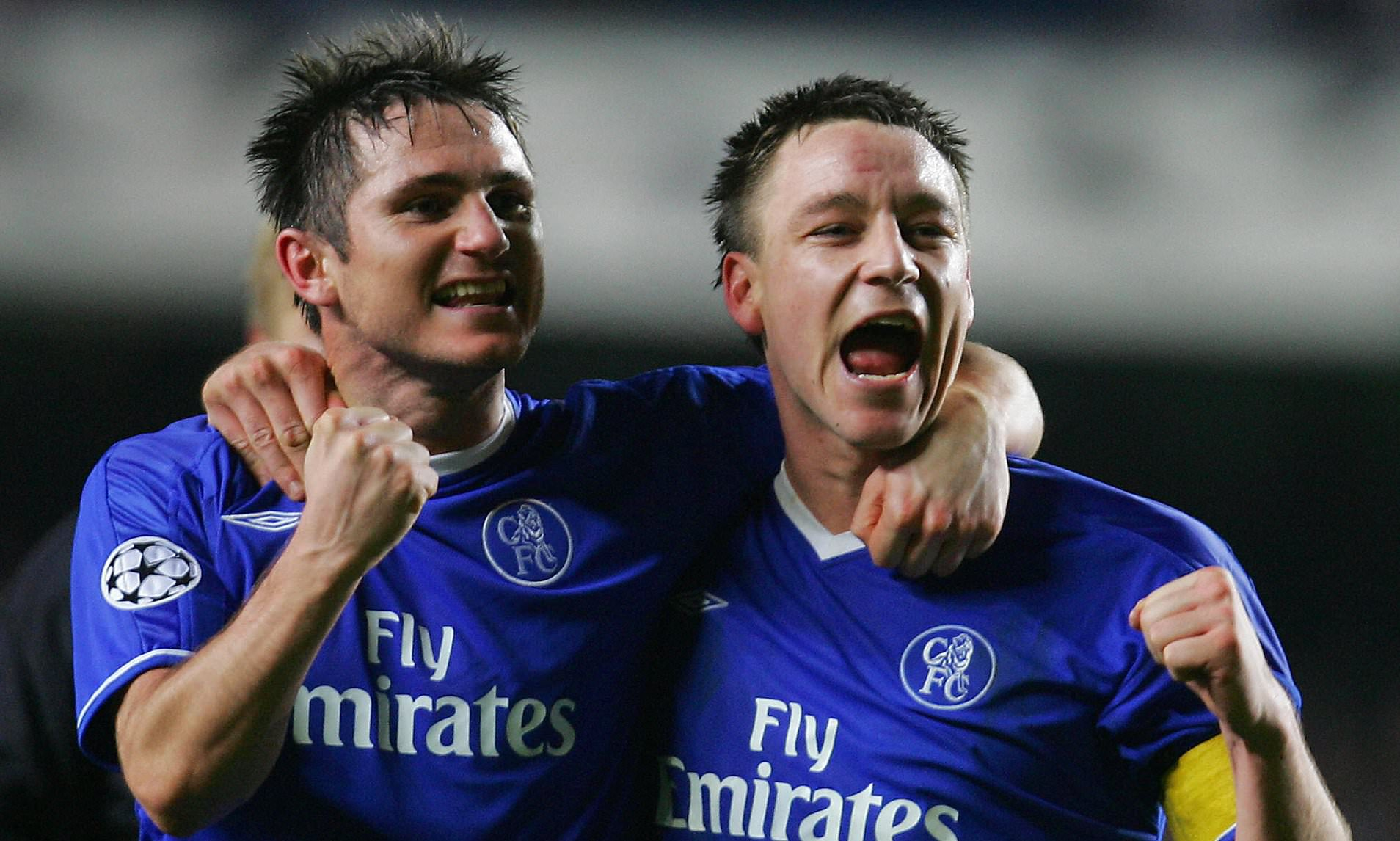 Terry will face former teammate Frank Lampard this weekend