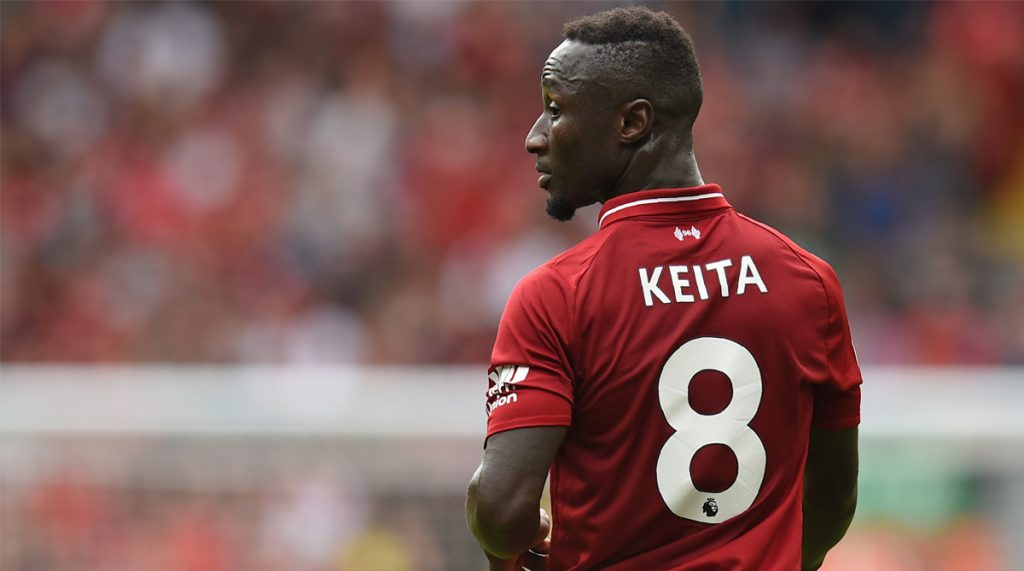 Liverpool agreed a deal for Keita a year in advance