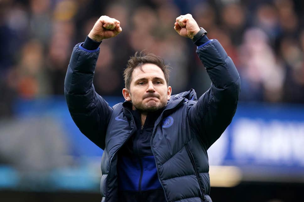 Frank lampard has done well with his young squad