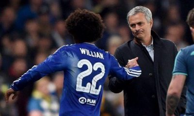 Jose Mourinho is keen to bring Willian to Tottenham Hotspur