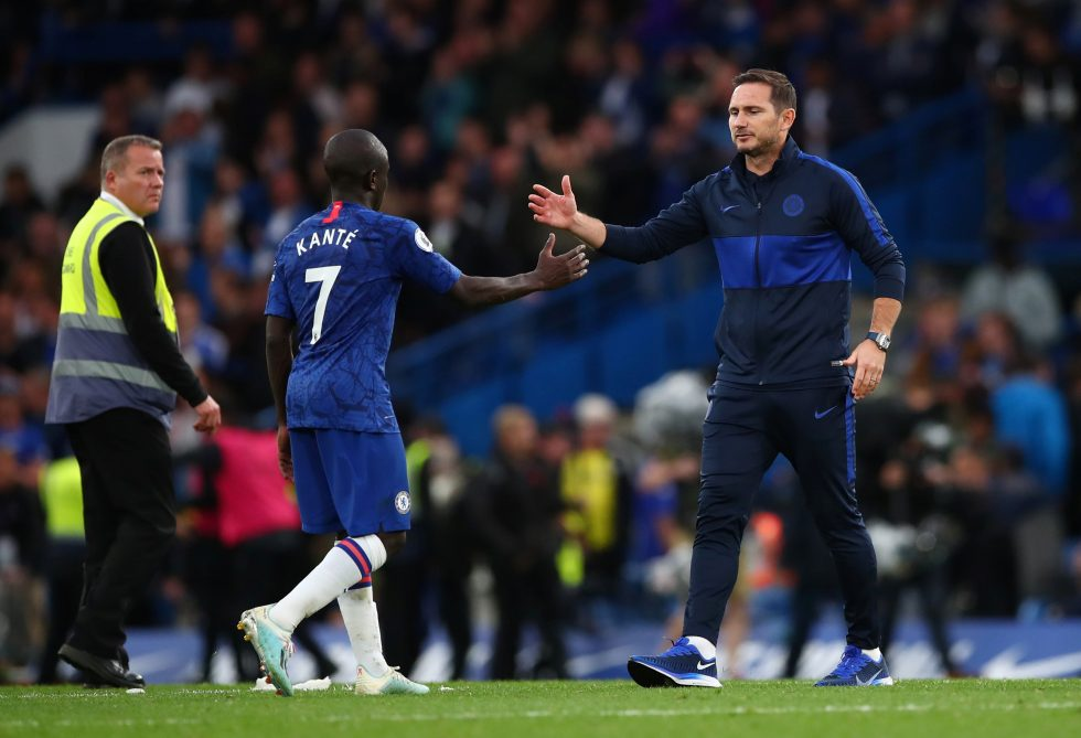 Frank lampard confirms that N'Golo Kante could feature against Manchester United