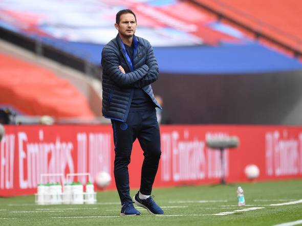 Frank lampard must now deliver at Chelsea