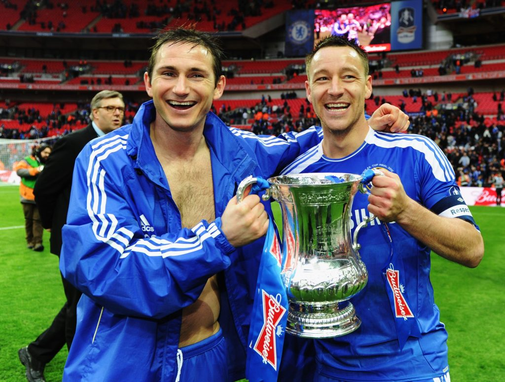 Chelsea have won the FA Cup eight times