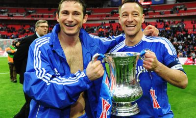 Terry and Lampard were the cornerstones of Chelsea's success