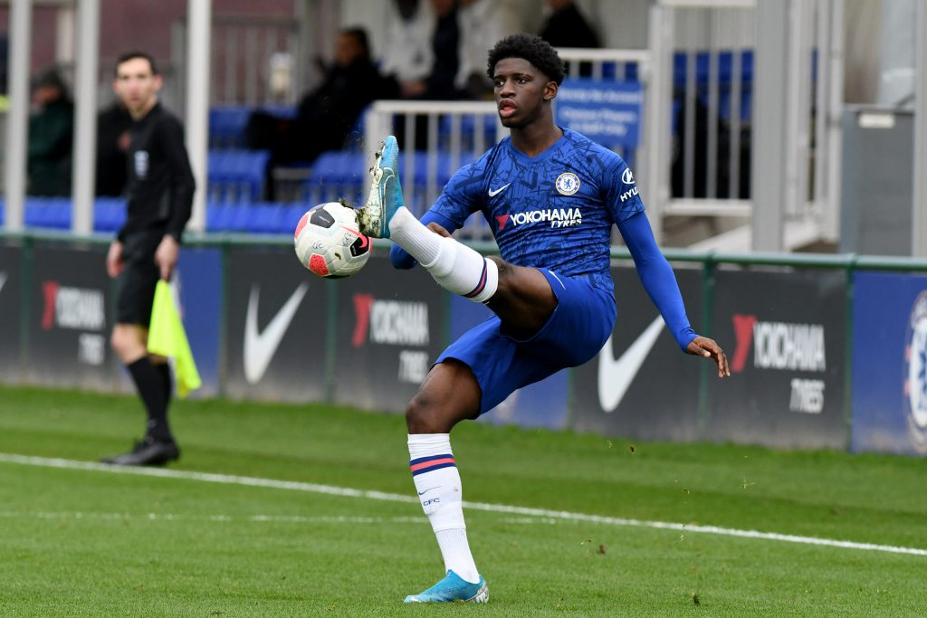 Juventus are interested in Chelsea academy starlet Samuel Iling-Junior