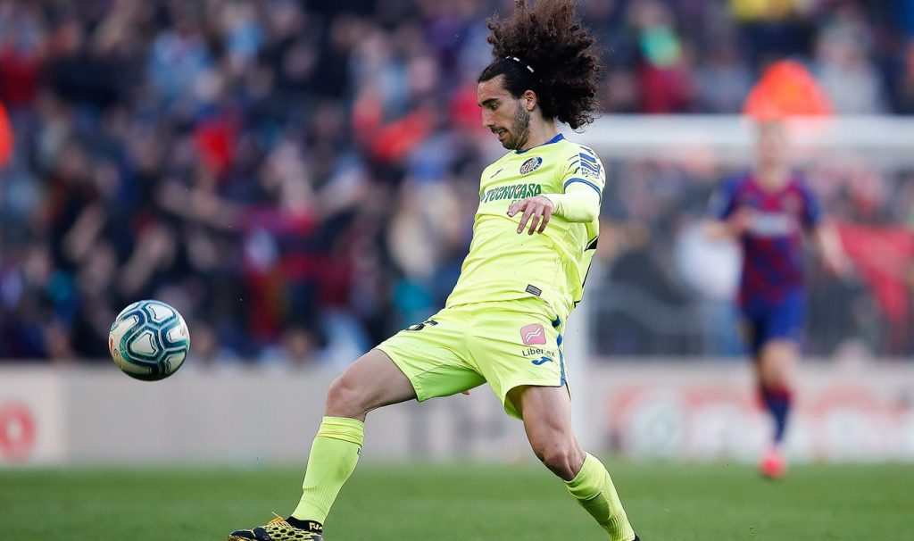 Marc Cucurella joined Getafe permanently from Barcelona