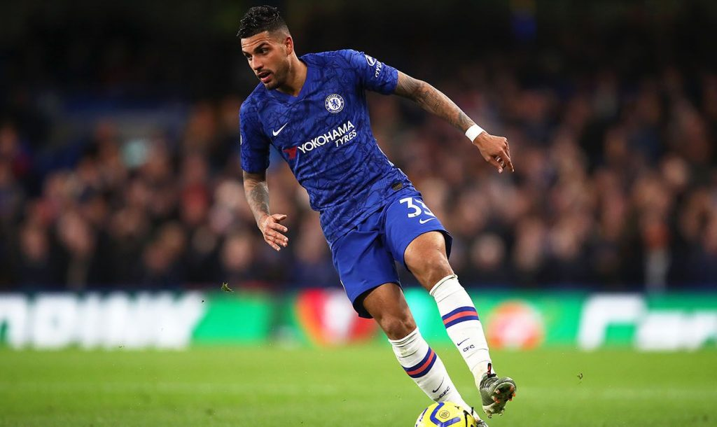 Emerson Palmieri has become a benchwarmer at Chelsea and has been linked with a move to Juventus. (GETTY Images)