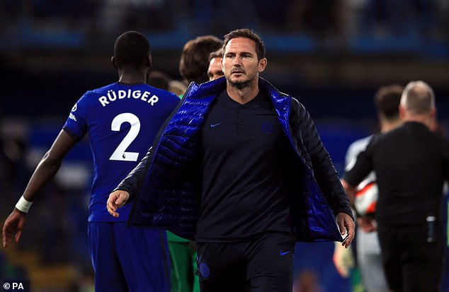 Frank Lampard has informed N'Golo Kante of his importance to Chelsea