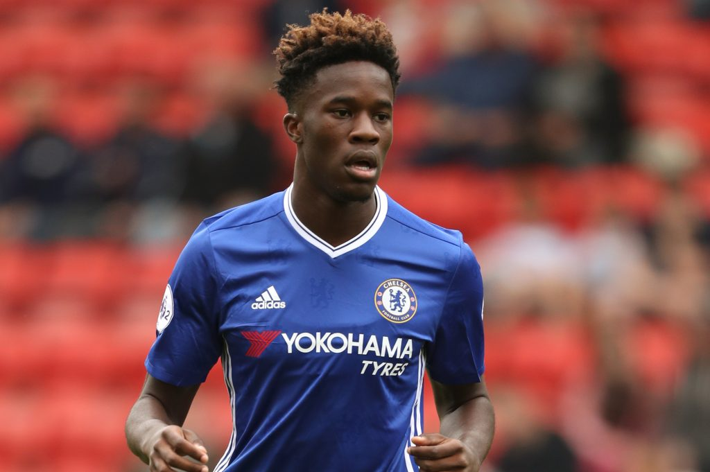Chelsea youngster Ike Ugbo is in demand among Championship clubs
